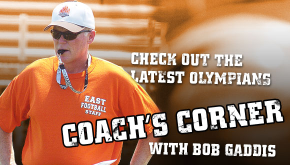 Check out the latest Olympians Coach's Corner with Bob Gaddis